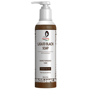 Liquid Black Soap